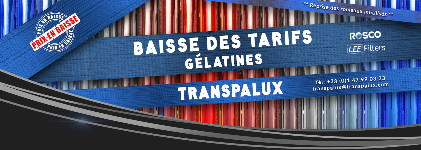 Transpalux Gelatine ROSCO LEE